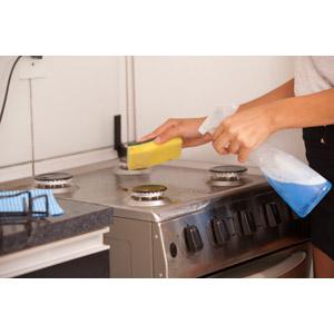 大掃除キッチン